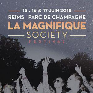 Festival LA MAGNIFIQUE SOCIETY : PASS 2 JOURS VENDREDI / SAMEDI à REIMS @ Parc de Champagne - Billets & Places
