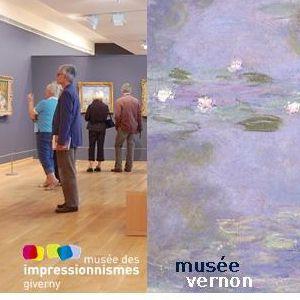 Billet couplé Musée des impressionnismes Giverny + Musée Vernon @ MUSEE DES IMPRESSIONNISMES GIVERNY - GIVERNY