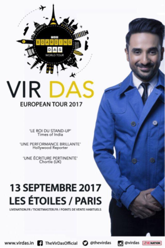 VIR DAS @ THEATRE LES ETOILES - Paris