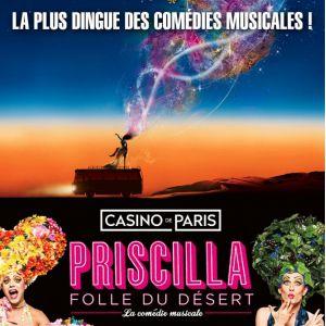PRISCILLA FOLLE DU DESERT @ Zénith d'Auvergne -  Cournon