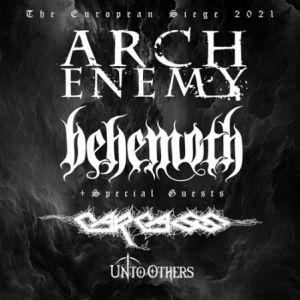 Arch Enemy + Behemoth + Carcass
