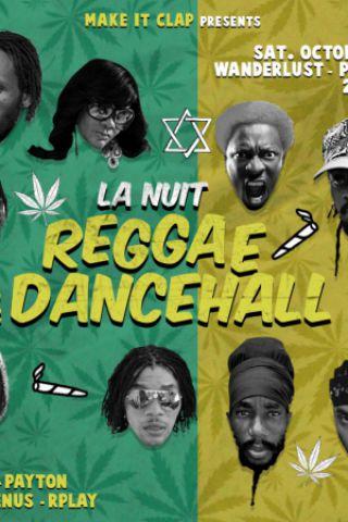 Soirée La Nuit Oldschool Reggae & Dancehall à PARIS @ Wanderlust - Billets & Places