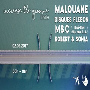 Increase the Groove Invite : M&C, Disques Flegon & Malouane @ Petit Bain - PARIS