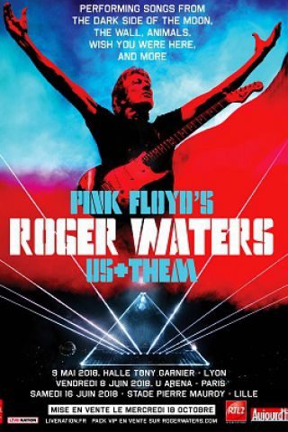 Concert ROGER WATERS à NANTERRE @ U ARENA / NANTERRE - PARIS LA DEFENSE - Billets & Places