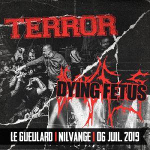 TERROR + DYING FETUS
