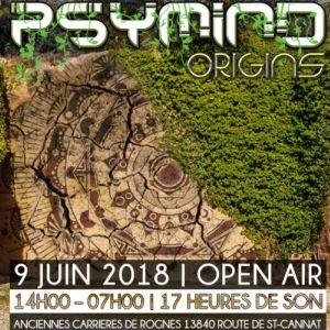 Psymind Origins 2018 @ Les Carrières - ROGNES