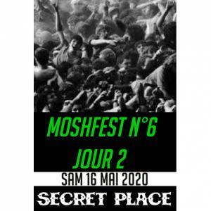 Moshfest N°6 Pass Samedi