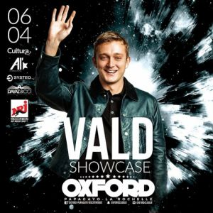VALD SHOWCASE OXFORD @ OXFORD CLUB - LA ROCHELLE