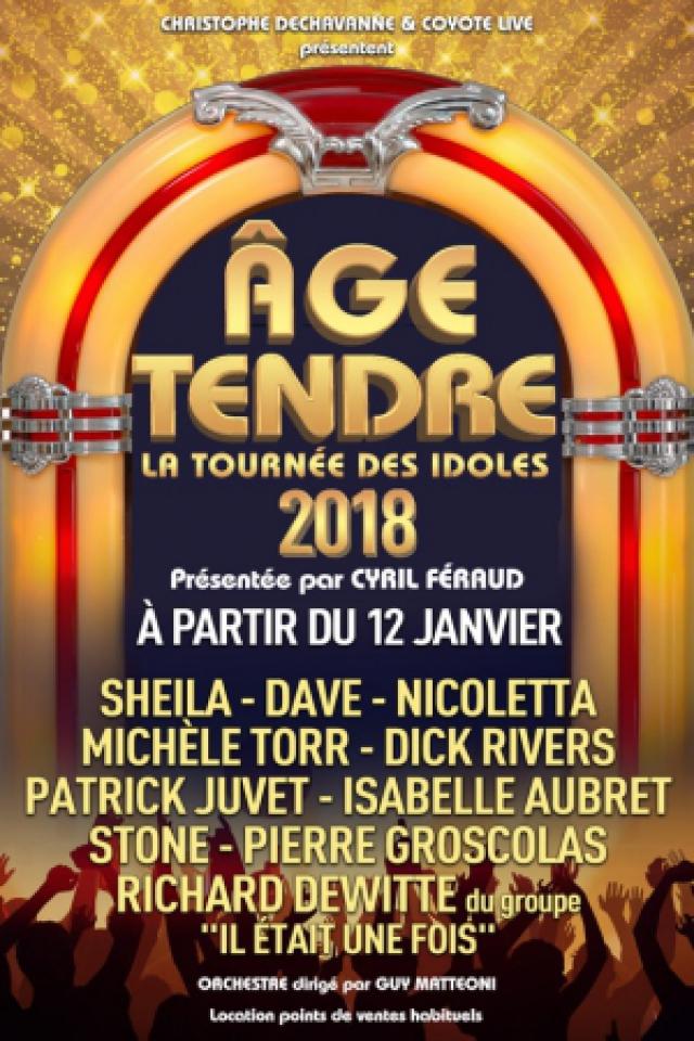 AGE TENDRE @ Zénith de Dijon - Dijon