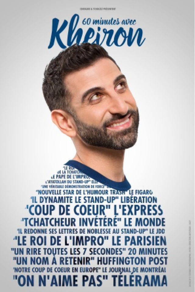 60 Minutes avec Kheiron @ L'Européen - Paris