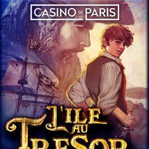 L'ILE AU TRESOR, L'AVENTURE MUSICALE @ Casino de Paris - Paris