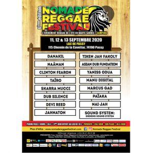 Nomade Reggae Festival 2020 - Pass Dimanche 13 Septembre
