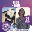 Concert DIDO + ZAZIE à CARCASSONNE @ THEATRE JEAN DESCHAMPS (CARCASSONNE) - Billets & Places