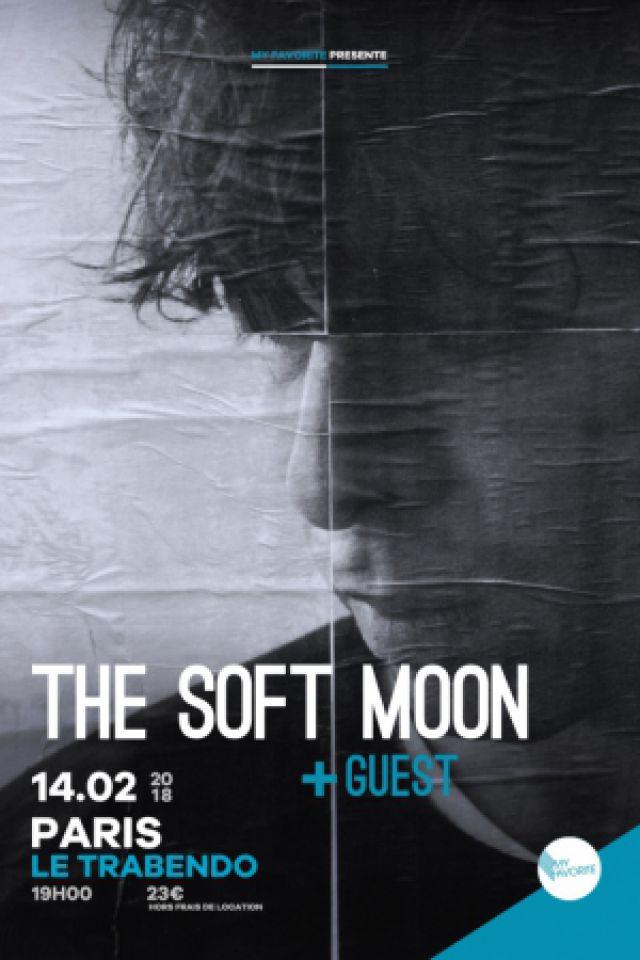 The Soft Moon en concert au Trabendo  @ Le Trabendo - Paris