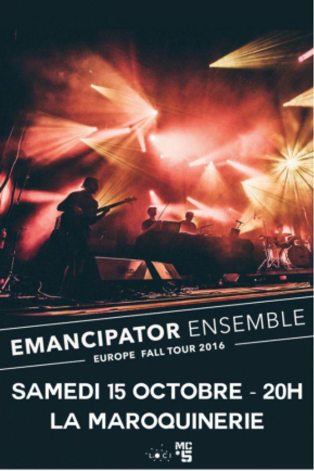 Concert EMANCIPATOR ENSEMBLE à PARIS @ La Maroquinerie - Billets & Places