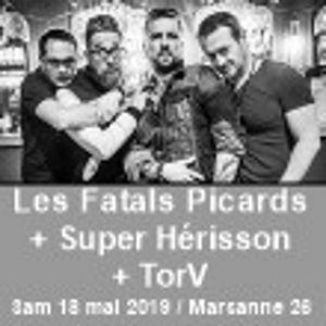 Fatals Picards + Super Hérisson + Torv