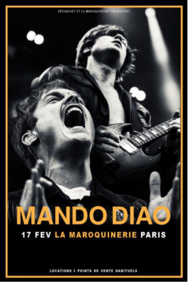MANDO DIAO @ La Maroquinerie - PARIS