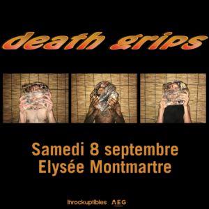 Death Grips @ ELYSEE MONTMARTRE - PARIS