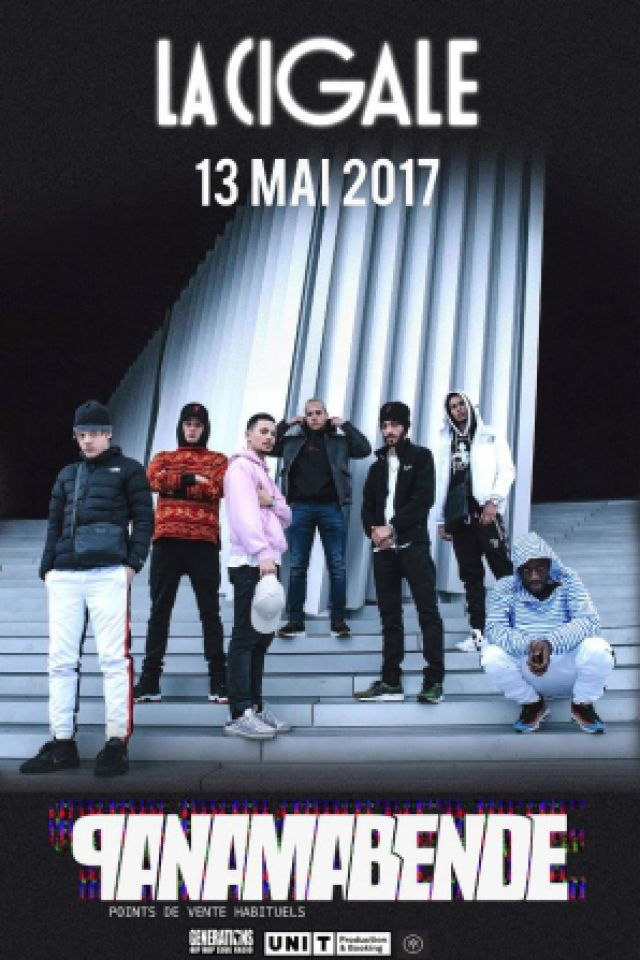 Concert PANAMA BENDE à Paris @ La Cigale - Billets & Places