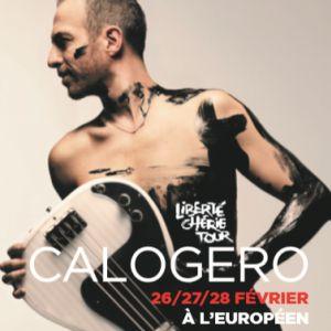 CALOGERO @ L'Européen - Paris