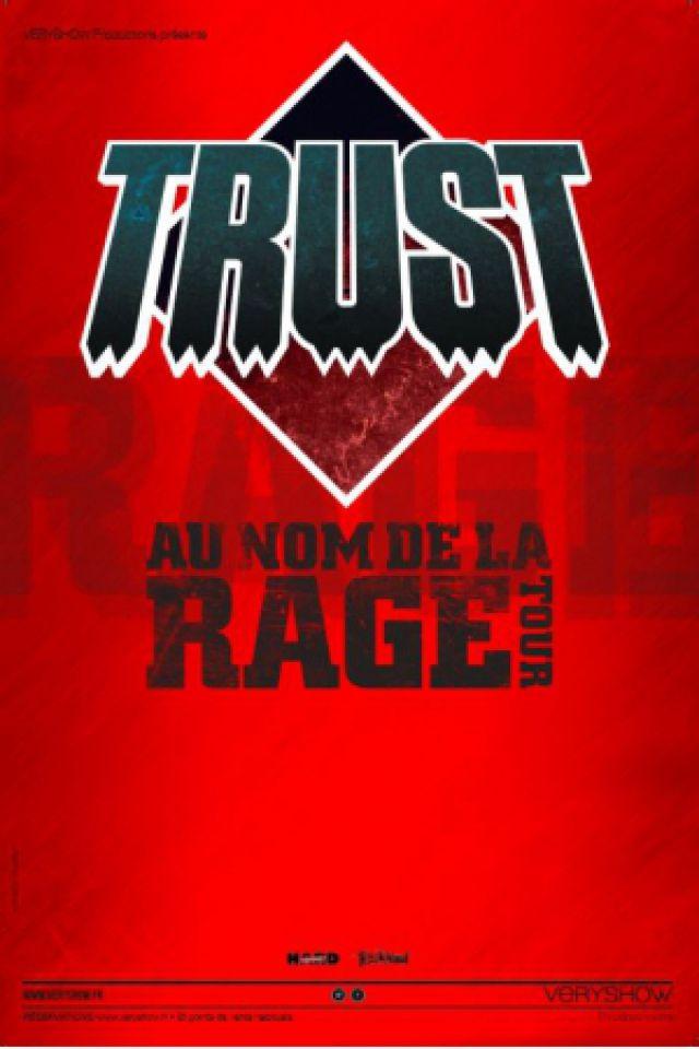 Concert TRUST - Au nom de la Rage Tour à LORIOL SUR DRÔME @ Salle Jean Clément  - Billets & Places