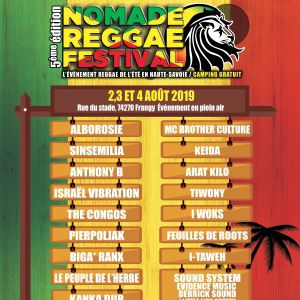 Nomade Reggae Festival - Pass 2 Jours + 3Ème Offert