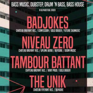 CHATEAU BRUYANT PARTY: Tambour Battant, Niveau Zero, The Unik... @ LA MOBA - BAGNOLS SUR CÈZE