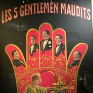Les Cinq Gentlemen maudits de Luitz Morat, 1920 @ Fondation Jérôme Seydoux-Pathé - PARIS