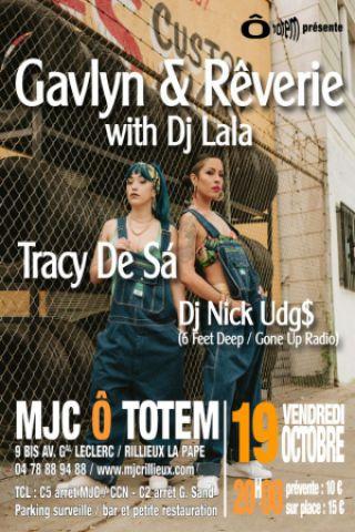 Billets Gavlyn & Rêverie with DJ Lala - MJC Ô Totem