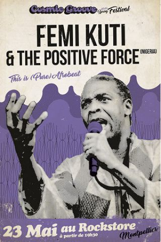 Billets Femi Kuti & The Positive Force  - Le Rockstore