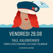 TOUQUET MUSIC BEACH FESTIVAL - VENDREDI : Paul Kalkbrenner & more