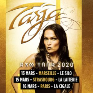"Tarja "" Raw Tour 2020"""
