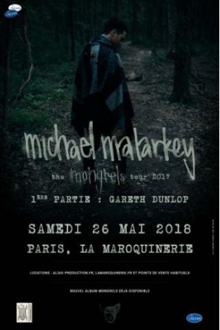 Concert Michael Malarkey à PARIS @ La Maroquinerie - Billets & Places