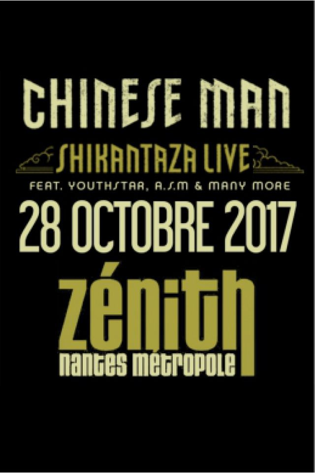 Concert CHINESE MAN + Guests à Saint Herblain @ ZENITH NANTES METROPOLE - Billets & Places