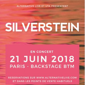 SILVERSTEIN + GUEST @ Le Backstage by The Mill - Paris