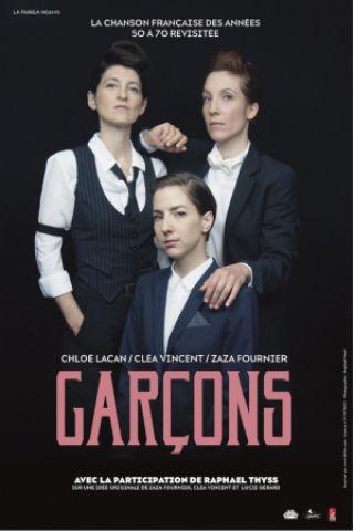 Concert Garçons à Paris @ Café de la Danse - Billets & Places