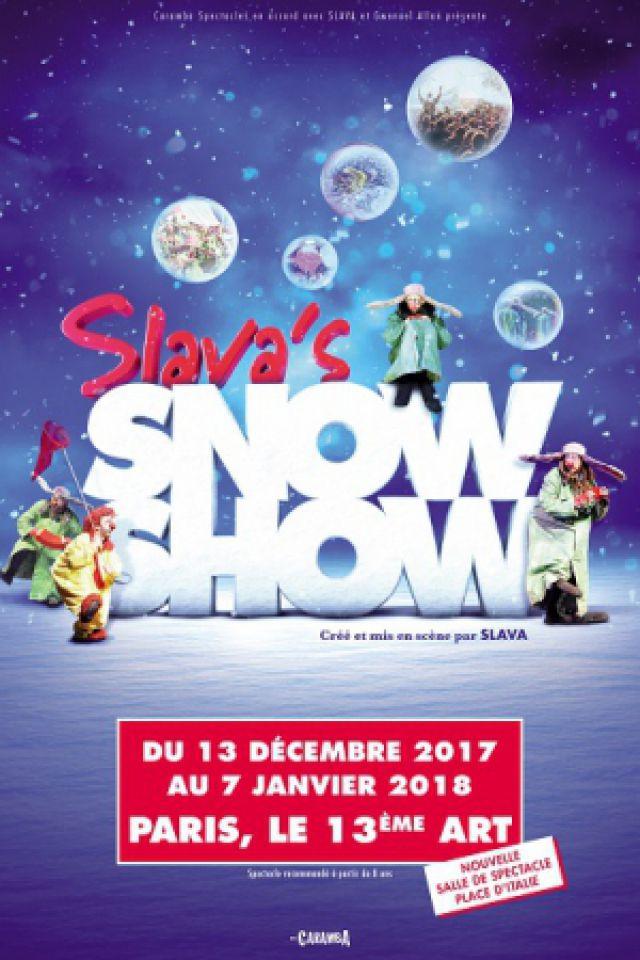SLAVA'S SNOWSHOW @ THÉÂTRE LE 13ÈME ART - PARIS