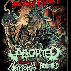 HELL OVER EUROPE : ABORTED + CRYPTOPSY + BENIGHTED + CYTOTOXIN @ NOUMATROUFF - MULHOUSE
