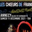 Concert Le Choeur de France Rhône-Alpes chante Noël