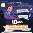 Spectacle ALDEBERT - ENFANTILLAGES 3 : LE CONCERT DES 10 ANS !