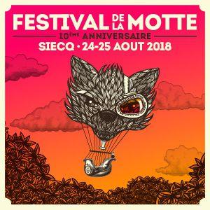 Festival de la Motte - 25 Août @ Bois de la Motte  - SIECQ