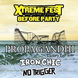 Propagandhi + Iron chic + No trigger @ paris gibus @ Gibus Live - PARIS