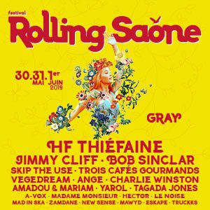 Festival Rolling Saone 2019 - Jeudi 30 Mai