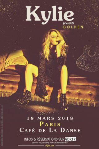 Concert Kylie Minogue à Paris @ Café de la Danse - Billets & Places