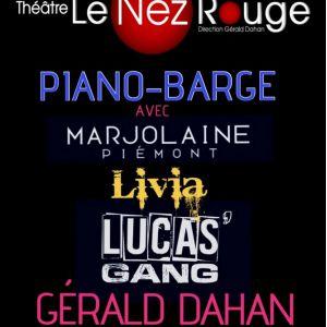 PIANO BARGE @ LE NEZ ROUGE - PARIS