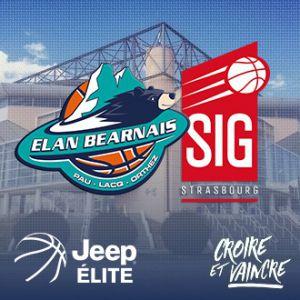 ELAN BEARNAIS / STRASBOURG @ Palais des Sports de Pau - PAU