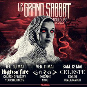 Festival Noiser présente : LE GRAND SABBAT @Le Rex de Toulouse