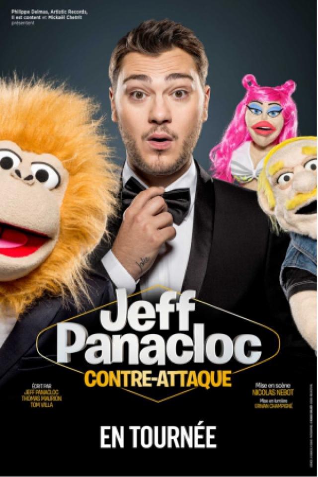 Spectacle JEFF PANACLOC CONTRE ATTAQUE à MÂCON @ Le Spot - Billets & Places