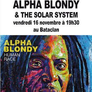 ALPHA BLONDY & THE SOLAR SYSTEM @ LE BATACLAN - PARIS