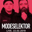 Concert MODESELEKTOR LIVE